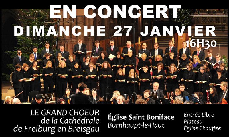 Concert de Janvier